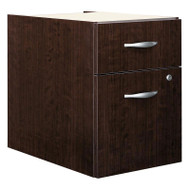 Bush Business Furniture Series C File Cabinet 3/4 Pedestal Mocha Cherry ASSEMBLED - WC12990SU