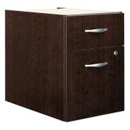 Bush Business Furniture Series C File Cabinet 3/4 Pedestal Mocha Cherry ASSEMBLED - WC12990SU