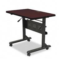 Balt Flipper Training Table 36 x 24 Mahogany - 89876