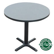 "Correll Bar and Cafe Breakroom Table Round 48"" - BXT48R"