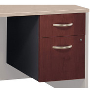 Bush Business Furniture Series C File Cabinet 3/4 Pedestal Hansen Cherry Assembled - WC24490SU