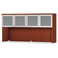 HON Park Avenue Laminate Collection Hutch with Glass Doors - PC501GVX