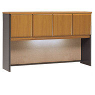 "Bush Business Furniture Series A Desk Hutch 60"" Natural Cherry - WC57461P"