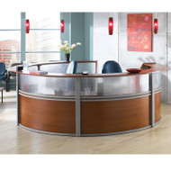 OFM Marque Five Unit Plexi-Reception Station - 55316
