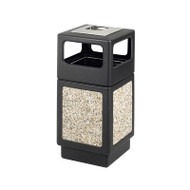 Safco Canmeleon Aggregate Panel Ash Urn / Side Open 38 Gallon - 9473NC