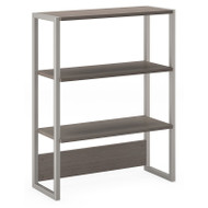 Kathy Ireland by Bush Method Collection Bookcase / Lateral File Hutch Cocoa - KI70106