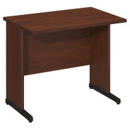 "Bush Business Furniture Series C Elite Desk 36"" x 24"" Hansen Cherry - WC24529"