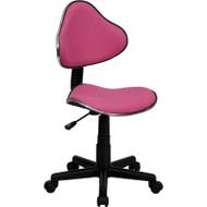 Flash Furniture Pink Ergonomic Task Chair - BT-699-PINK-GG