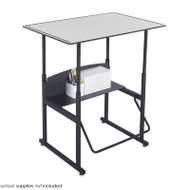 Safco AlphaBetter Desk - 1208GR