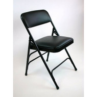 Metal Folding Chair (Set of 4) with Vinyl Seat and Back - ACT3000AV