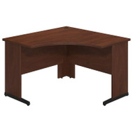 "Bush Business Furniture Series C Elite Corner Desk 48"" x 48"" Hansen Cherry - WC24551"