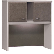 "Bush Business Furniture Series A Hutch 36"" Pewter - WC14537P"