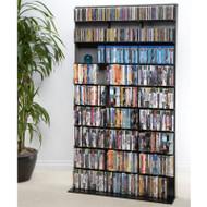Atlantic Media Tower Elite Large 837 CD Or 630 BluRay in Black - 35435725
