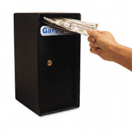 FireKing Theft-Resistant Compact Cash Trim Safe, Black - MS1206