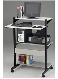 Mayline Soho Adjustable Computer Workstation - 8432SO