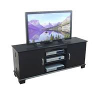 Walker Edison Jamestown Wood TV Console 60 Black Finish - W60C73BL