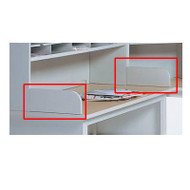 Mayline Mailflow-To-Go Pair of Dump Rails - DR2