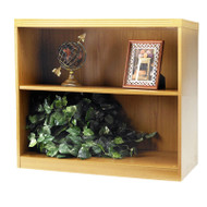 Mayline Aberdeen Bookcase 2-Shelf Maple- AB2S36-LMA