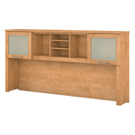 "Bush Somerset Collection Hutch for L-Shaped Desk 71"" Maple Cross - WC81411"