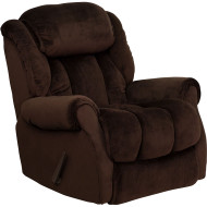 Flash Furniture Contemporary Champion Chocolate Microfiber Chaise Recliner - AM-9650-2051-GG