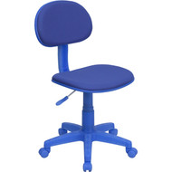 Flash Furniture Blue Fabric Ergonomic Task Chair -  BT-698-BLUE-GG