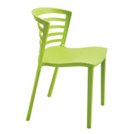 Safco Entourage Indoor/Outdoor Stack Chairs (Pack of 4) Grass - 4359GS