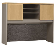 "Bush Business Furniture Series A Desk Hutch 48"" Light Oak - WC64349P"