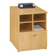 "Bush Business Furniture Series C Cabinet 24"" Light Oak - WC60304"