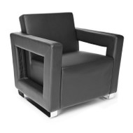 OFM Distinct Series Soft Seating Lounge Chair (Pack of 3 chairs) - 831-3