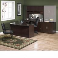 Bush Business Furniture Series C Package Executive U-Shaped Bowfront Desk - SC19