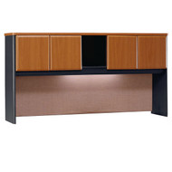 "Bush Business Furniture Series A Hutch 72"" Natural Cherry - WC57473P"