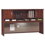 "Bush Business Furniture Series C Hutch 2-Door 72"" Hansen Cherry - WC24466K"
