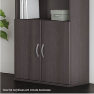 Bush Business Furniture Studio C Half-Height Door Kit Storm Gray - SCB236SG