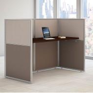 """Bush Furniture Easy Office Straight Desk 60"""" Closed - EOD260MR-03K"""