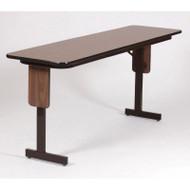 Correll Panel Leg Adjustable Height Folding Seminar Table 18 x 96 - SPA1896PX
