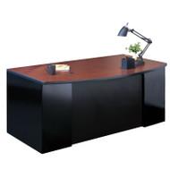 Mayline CSII Bow Front Desk Shell 72W x 39D x 29H - C1976