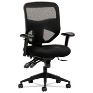 Basyx by HON HVL532 Black Mesh High-Back Chair - BSXVL532MM10