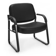 OFM Big & Tall Guest Reception Anti-bacterial Vinyl Chair - 407-VAM