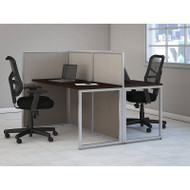 "Bush Furniture Easy Office Straight Desk 60"" 2-Person - EOD460MR-03K"