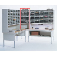 "Mayline Mailflow-To-Go Corner Table 30""W - TB30"