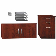 Bush Furniture Office-in-an-Hour Storage and Accessory Kit - WC36490-03