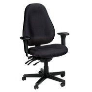 Eurotech by Raynor Slider High-Back Fabric Chair - 1701