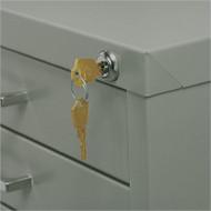 Safco Lock Kit for Ten-Drawer Flat File - 4983