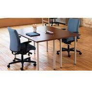 HON Huddle Multi-purpose Table 60 with Post Legs - MT3060ENPOST