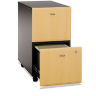 Bush Business Furniture Series A Mobile File Cabinet 2-Drawer Beech - WC14352P