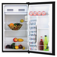 Alera 3.3 Cu. Ft. Refrigerator with Chiller Compartment Black - ALERF333B