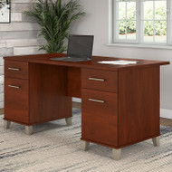 "Bush Somerset Collection Desk 60"" Hansen Cherry - WC81728K"