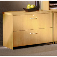 "Mayline Aberdeen Lateral File Cabinet 36"" Free Standing Maple - AFLF36-LMA"