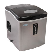 NewAir Portable Ice Maker Stainless Steel Small - AI-100SS