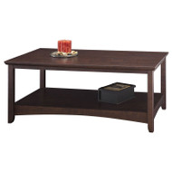 Bush Buena Vista Coffee Table, Madison Cherry  - MY13807-03